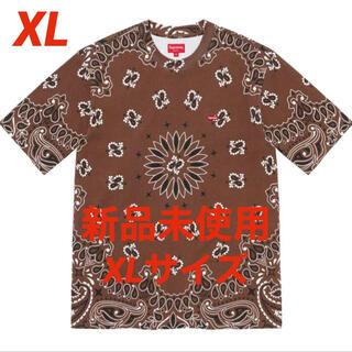 シュプリーム(Supreme)の新品未使用 Small Box Tee Brown Bandana XLサイズ(Tシャツ/カットソー(半袖/袖なし))
