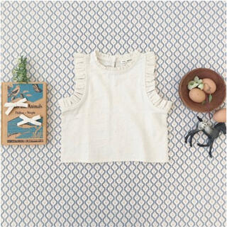 soor ploom Thelma Camisole, Natural(ブラウス)