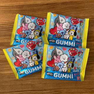 ボウダンショウネンダン(防弾少年団(BTS))のBT21 GUMMI ステッカー付き(菓子/デザート)