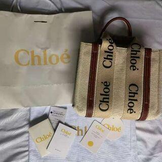 Chloe - Chloe クロエ woody トートバッグ ショルダーバッグ S