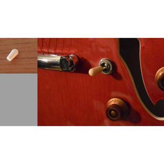 ギター トグルスイッチノブ ヴィンテージホワイト(エレキギター)