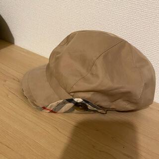 バーバリー(BURBERRY)のキッズ バーバリー キャスケット 帽子(帽子)