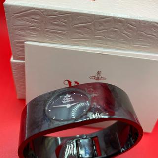 ヴィヴィアンウエストウッド(Vivienne Westwood)のヴィヴィアンウエストウッド 時計 バングル 黒(腕時計)