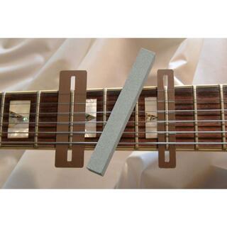 ギター ベース フレットすり合わせ専用保護ステー2+研磨剤(エレキギター)
