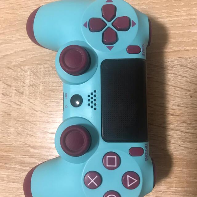 PlayStation4(プレイステーション4)のPS4 ワイヤレスコントローラー 高速Bluetooth4.0デュアルショック4 エンタメ/ホビーのゲームソフト/ゲーム機本体(その他)の商品写真