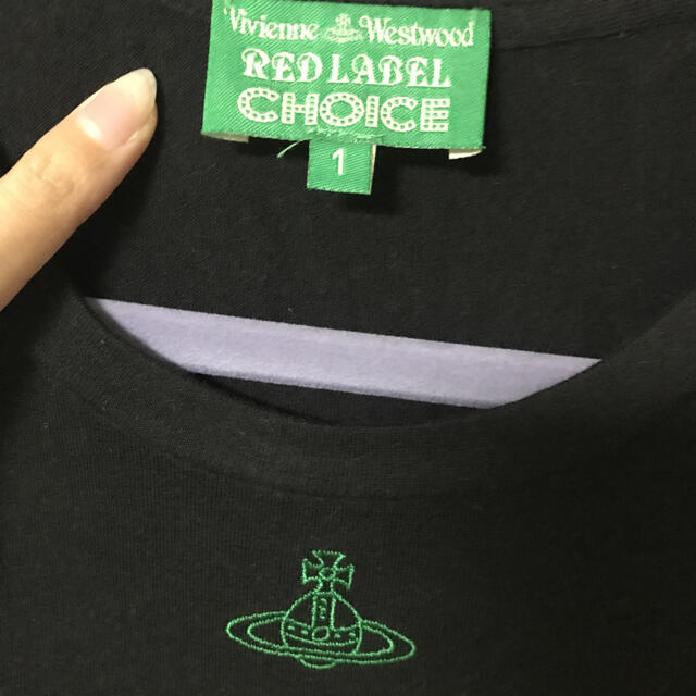 Vivienne Westwood(ヴィヴィアンウエストウッド)のVivienne Westwood♡Tシャツ レディースのトップス(Tシャツ(半袖/袖なし))の商品写真