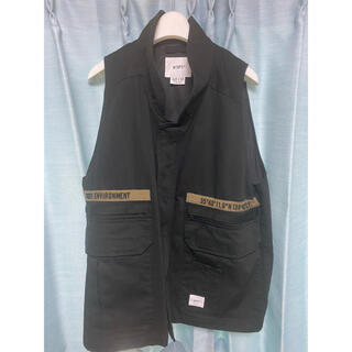 W)taps - WTAPS 21SS  REP VEST COTTON. TWILL  黒 L
