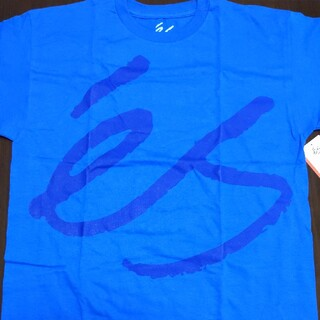 エス(ES)のes  Tシャツ ロイヤルブルー M(Tシャツ/カットソー(半袖/袖なし))