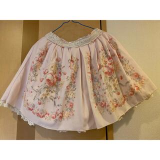LIZ LISA - LIZLISA 花柄スカート