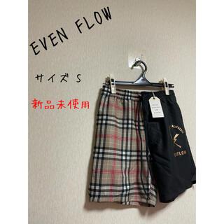 イーブンフロー(evenflo)の新品未使用 EVEN FLOW ショートパンツ S(ショートパンツ)