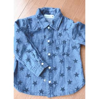 ブランシェス(Branshes)のブランシェス デニムシャツ 90(Tシャツ/カットソー)