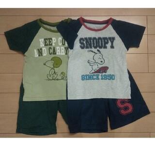 ユニクロ(UNIQLO)のパジャマ 2着セット(120サイズ、男の子)(パジャマ)