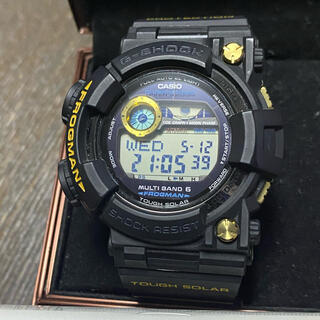 G-SHOCK - CASIO G-SHOCK フロッグマン GWF-1000G ゴールド 黒金蛙
