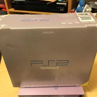 プレイステーション2(PlayStation2)のPS2 本体 限定サクラ SCPH-50000 SA(家庭用ゲーム機本体)