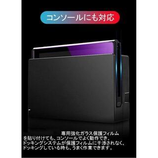 【新品】Switch 保護フィルム ブルーライトカット/指紋防止/耐久/2枚入(その他)