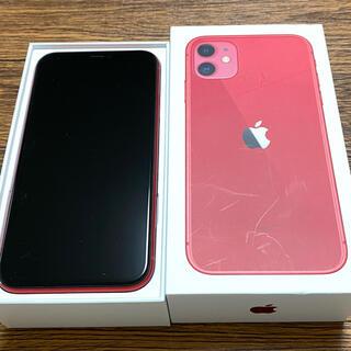 Apple - iPhone11  レッド  64GB