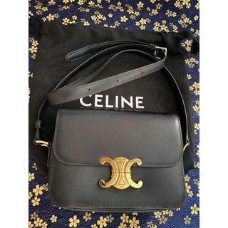 celine - CELINE ショルダーバッグ ブラック