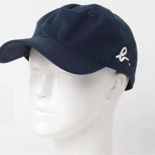 アニエスベー(agnes b.)の新品 アニエスべー 横ロゴキャップ 帽子 ネイビー(キャップ)