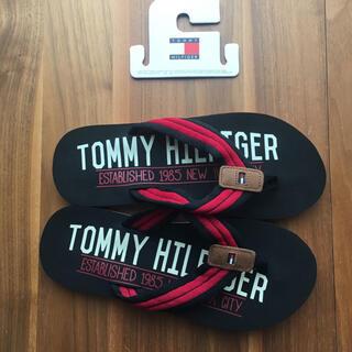 トミーヒルフィガー(TOMMY HILFIGER)のTOMMY HILFIGER トミーフィルフィガー ビーチサンダル(ビーチサンダル)
