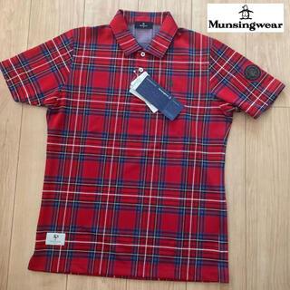 マンシングウェア(Munsingwear)のM/新品定価18700円マンシングウェアメンズ半袖ポロシャツ(ウエア)