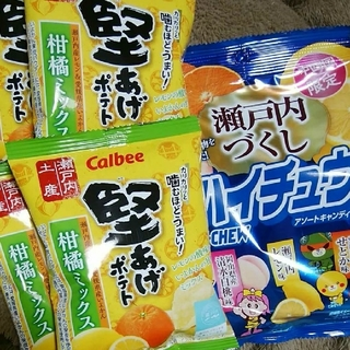 瀬戸内 堅あげポテト⭐中四国ハイチュー(菓子/デザート)