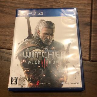 プレイステーション4(PlayStation4)の【中古・美品】ウィッチャー3 ワイルドハント PS4(家庭用ゲームソフト)