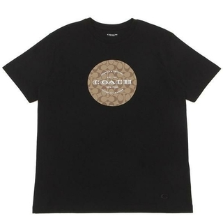 COACH - 【COACH★F33780】コーチ メンズトップス半袖Tシャツ 黒ブラック 新品