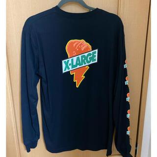 エクストララージ(XLARGE)のX-LARGE エクストララージ ロンT xlarge tシャツ 袖ロゴ(Tシャツ/カットソー(七分/長袖))
