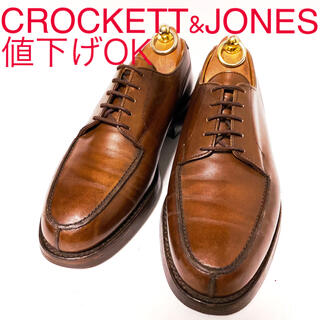 Crockett&Jones - 608.CROCKETT&JONES MORETON Uチップ 6E