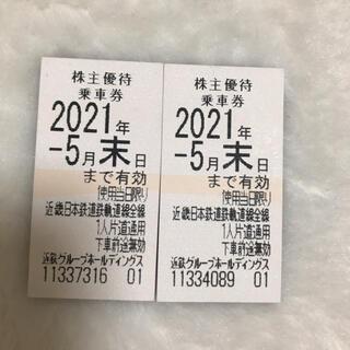 キンテツヒャッカテン(近鉄百貨店)の近鉄 株主乗車券(鉄道乗車券)