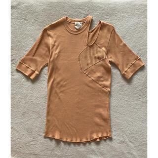 ジョンリンクス(jonnlynx)のjonnlynx リブ カットソー Tシャツ(カットソー(半袖/袖なし))