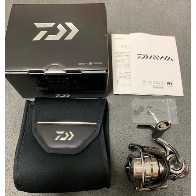 DAIWA(ダイワ)のダイワ 18イグジスト フィネスカスタム LT2500S-CXH スピニング スポーツ/アウトドアのフィッシング(リール)の商品写真