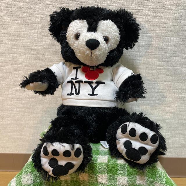 ダッフィー(ダッフィー)のブラック ダッフィー エンタメ/ホビーのおもちゃ/ぬいぐるみ(キャラクターグッズ)の商品写真