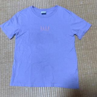ジーユー(GU)のレディース 半袖 Tシャツ GU ELLE 夏服(Tシャツ(半袖/袖なし))
