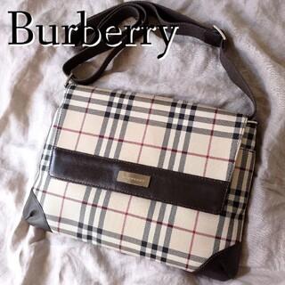 BURBERRY - 美品♪】バーバリー Burberry ショルダーバッグ ノバチェック ベージュ