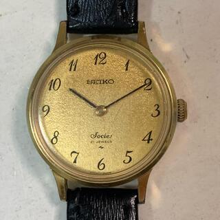 SEIKO - セイコーsocie手巻き腕時計