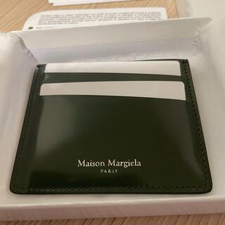 Maison Martin Margiela - メゾンマルジェラ Maison Margiela カードケース グリーン