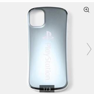 ジーユー(GU)のGU モバイルケース iPhone11 / XR対応 プレイステーション 白色(iPhoneケース)