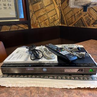 SHARP - SHARP  BD-W1100  12倍録  2番組W録 500GB フル装備