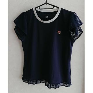 FILA - FILA テニスシャツ ネイビー