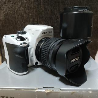 PENTAX - PENTAX K-30 ホワイト ダブルズームキット