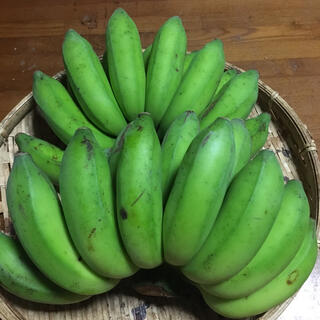 自然栽培   島バナナ 約2キロ。(フルーツ)