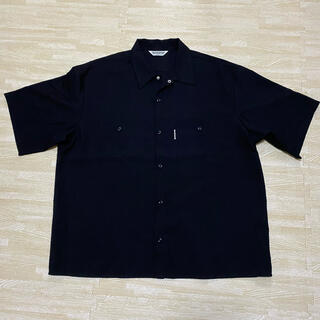 クーティー(COOTIE)のCOOTIE/T/C Work S/S Shirt(ブラック)(シャツ)