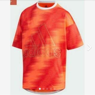 アディダス(adidas)の【新品】【サイズ:160】adidasキッズTシャツ(インスパイア赤)(Tシャツ/カットソー)