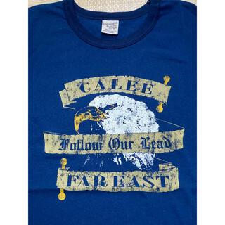 キャリー(CALEE)のCALEE S/S TEE INDIGO BLUE EAGLE T-SHIRT(Tシャツ/カットソー(半袖/袖なし))
