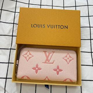 LOUIS VUITTON - 新品 バイザプール 長財布 財布 ルイヴィトン アンプラント ピンク レザー