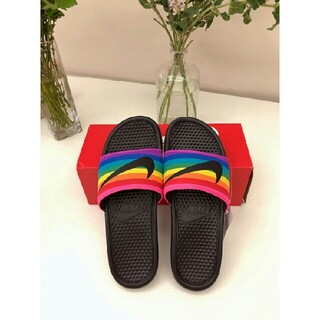 NIKE - Nike Benassi JDI BE TRUEスリッパ
