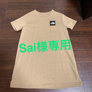THE NORTH FACE - ノースフェイス  キッズ ワンピースTシャツ 120㎝