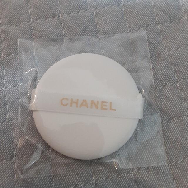CHANEL(シャネル)のシャネルパフ コスメ/美容のメイク道具/ケアグッズ(パフ・スポンジ)の商品写真