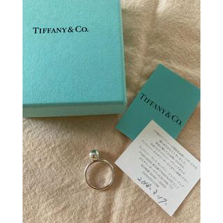 Tiffany & Co. - TIFFANY ハードウェアボールシルバーリング美品❣️